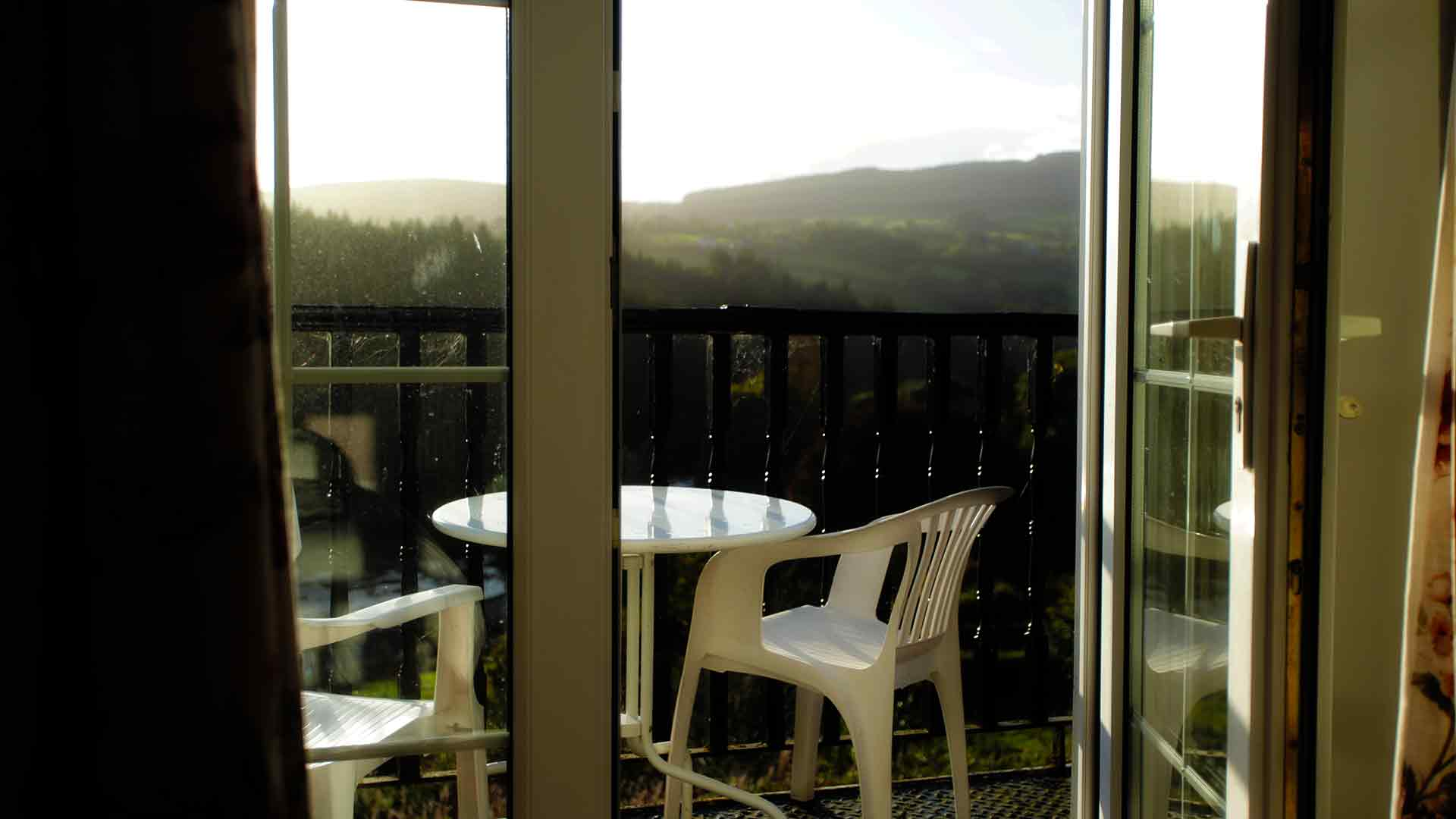 Glorious views from your balcony